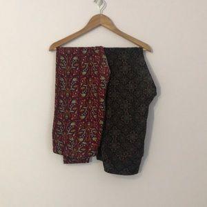 Set of 2 pairs of TC leggings